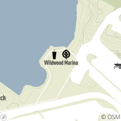 Map of Wildwood Marina