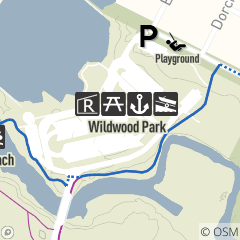 Map of Wildwood Park