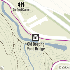 Map of Old Boating Pond Bridge