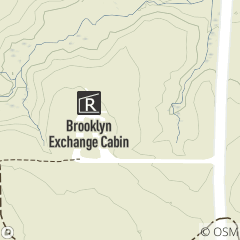 Map of Brooklyn Exchange Cabin