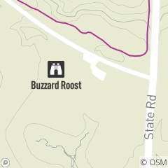 Map of Buzzard Roost