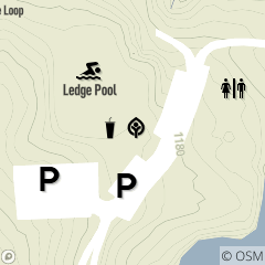 Map of Ledge Lake Building