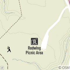 Map of Redwing Picnic Area