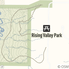Map of Rising Valley Park