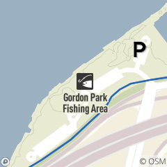 Map of E 72nd Fishing Area