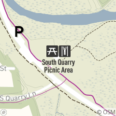 Map of Mill Stream Run Physical Fitness Trail