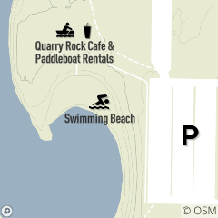 Map of Wallace Lake Beach