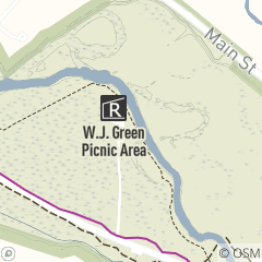 Map of W.J. Green Picnic Area