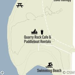 Map of Wallace Lake Café