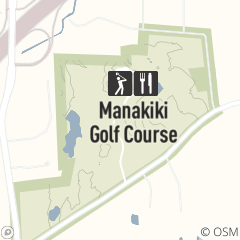 Map of Manakiki Golf Course