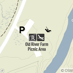 Map of Old River Farm Picnic Area