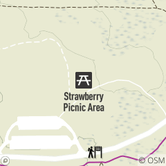 Map of Strawberry Picnic Area