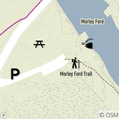 Map of Morley Ford Fishing Area