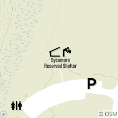 Map of Sycamore Shelter