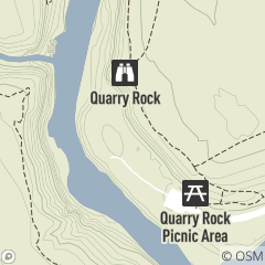 Map of Quarry Rock