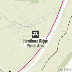 Map of Hawthorn Ridge Picnic Area