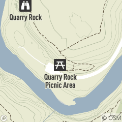Map of Quarry Rock Picnic Area