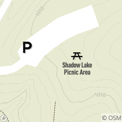 Map of Shadow Lake Picnic Area