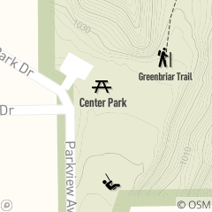 Map of Center Park Picnic Area