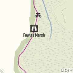 Map of Fowles Marsh