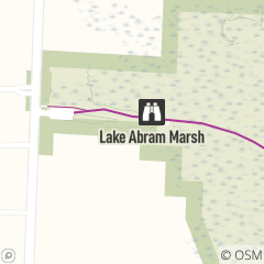 Map of Lake Abram Marsh