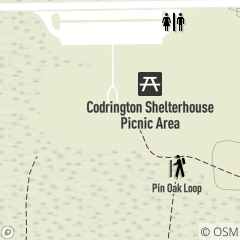 Map of Codrington Shelterhouse Picnic Area