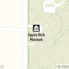 Map of Squire Rich Museum