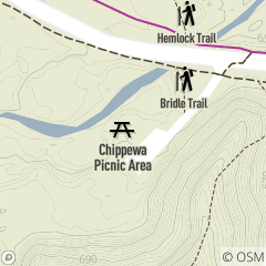 Map of Chippewa Picnic Area