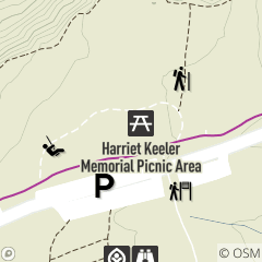 Map of Harriet Keeler Memorial Picnic Area