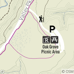 Map of Oak Grove Reservable Picnic Area