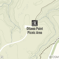 Map of Ottawa Point Picnic Area