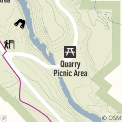 Map of Quarry Picnic Area